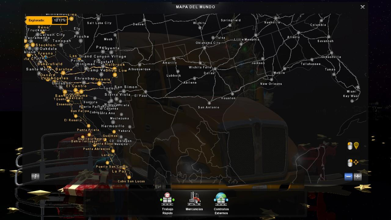 Viva Mexico Map 2.1.1 Fix + Coast to Coast Compatible