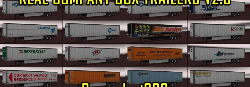 Real Company Box Trailers v2.3