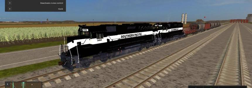 Southern Pacific Train v1