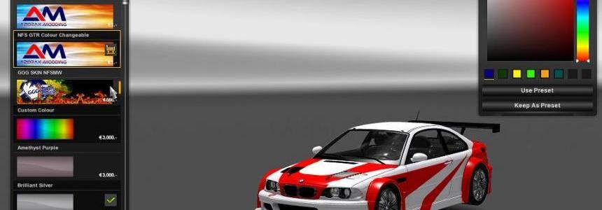 BMW M3 E46 + M3 GTR E46 v1.5