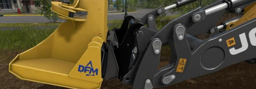 Adapter wheel loaders skid steer loaders v1.0