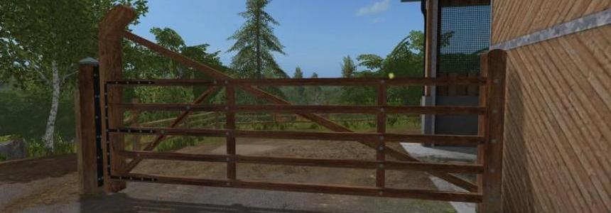 Animated paddock fence with gate v1.0