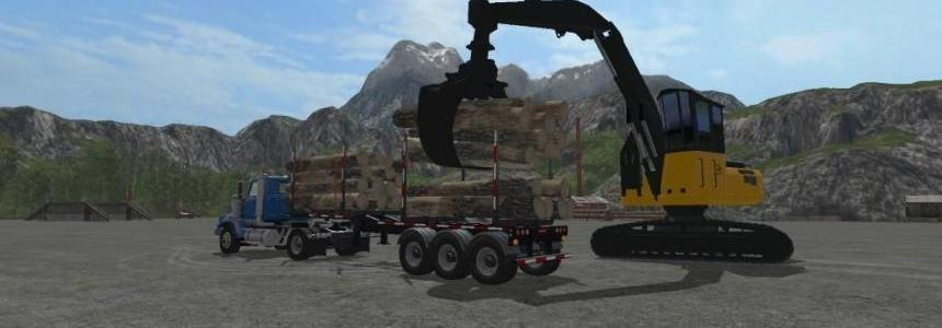 Biobeltz Log Trailer TR 500 v1.1