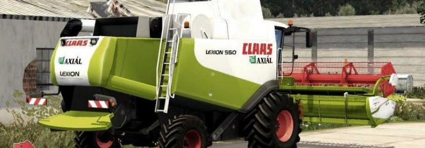 CLAAS LEXION 550 BETA