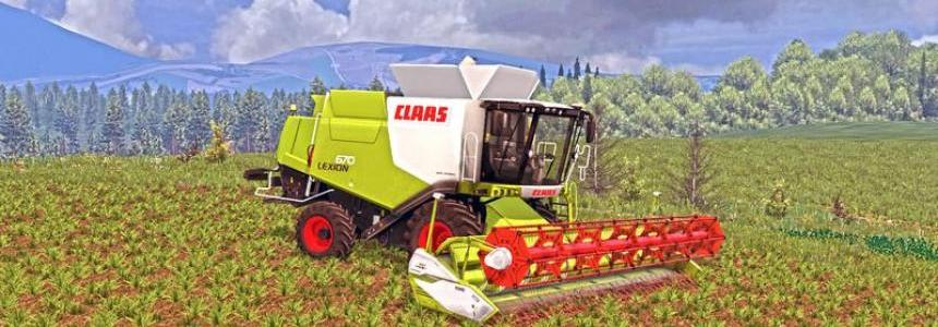Claas Lexion 670 v0.9