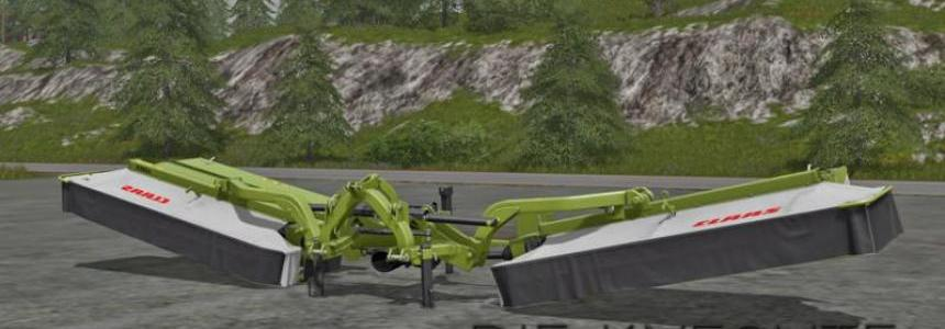 Claas Mower combination v1