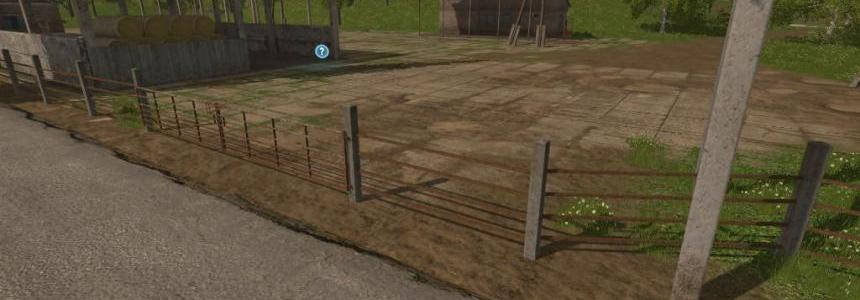 Concrete/Rust Gates and Fences v1.0.0.1