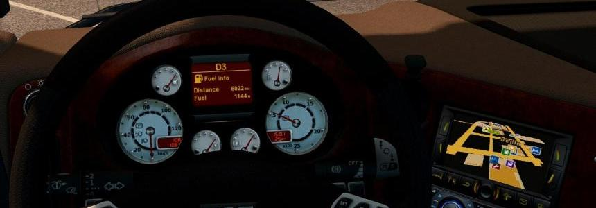 Dashboard for DAF 105 1.26.x