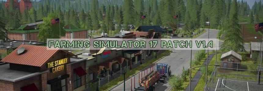 Farming Simulator 17 Update v1.4