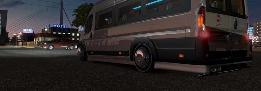 Fiat Ducato for ETS 2 1.25.x