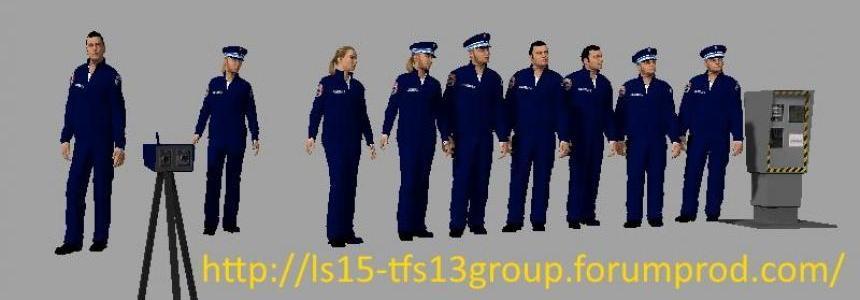 FIGURINES POLICE V2