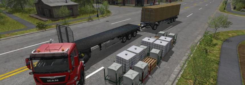Fliegl Flatbed + Flatbed Autoload v4.0