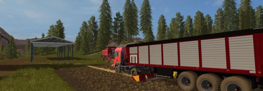 Forage semi trailer v1