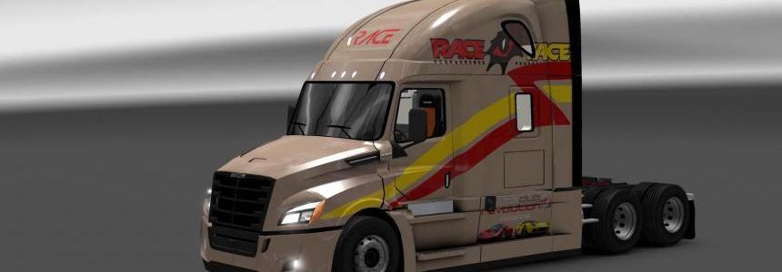 Freightliner Cascadia 2018 Race skin 1.26