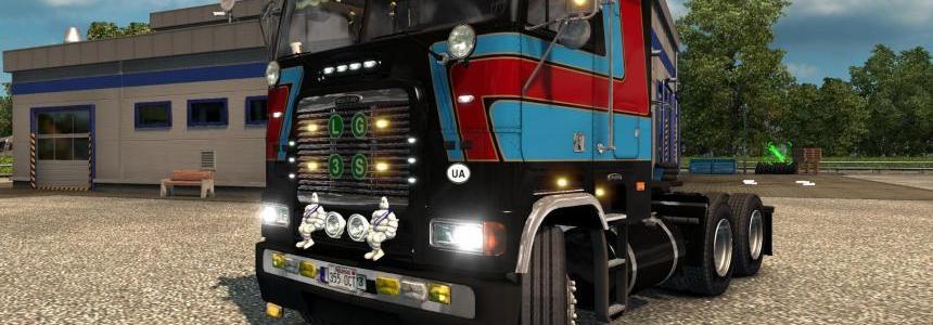Freightliner FLB Edited v1.1 for ETS@2 [1.26.x](Fixes}