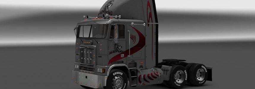 Freightliner FLB Mad Dog skin v1
