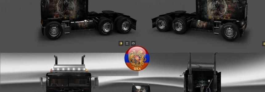 Freightliner FLB Tiger Skin 1.26.6s