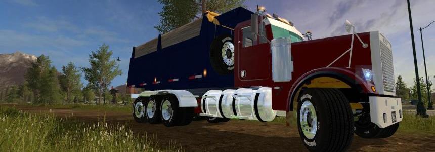FREIGHTLINER FLD12064SD Dump Truck v1.0
