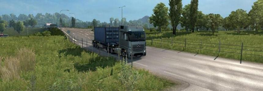 HDR Real Graphics Mod ETS2 1.26 (for Oculus Rift)