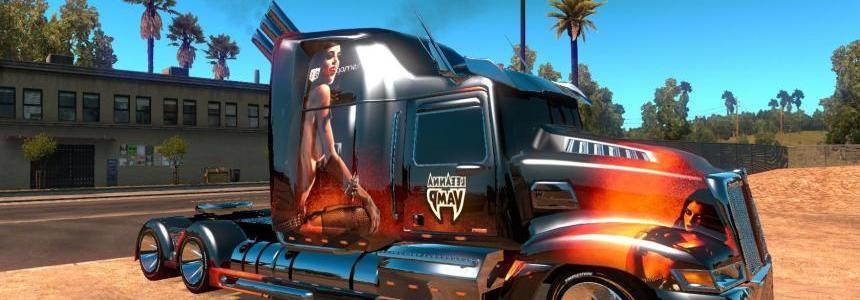 Heavy truck: Optimus Prime, Western Star 5700 ATS 1.5.3s