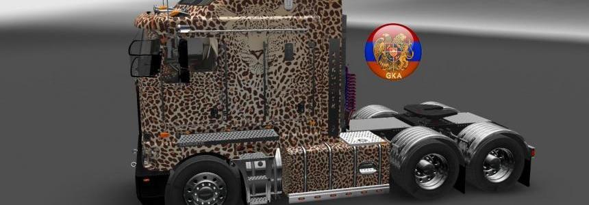 Kenworth K200 W900 Long Leopard Skin 1.26.5.1s
