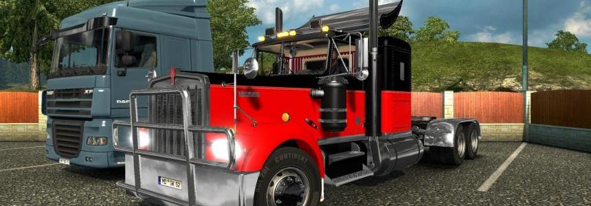 Kenworth W900A v3.1 for ETS@2 1.23.x. - 1.26.x