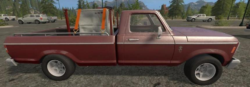 Lizard Pickup Rodeo RHD v1.0