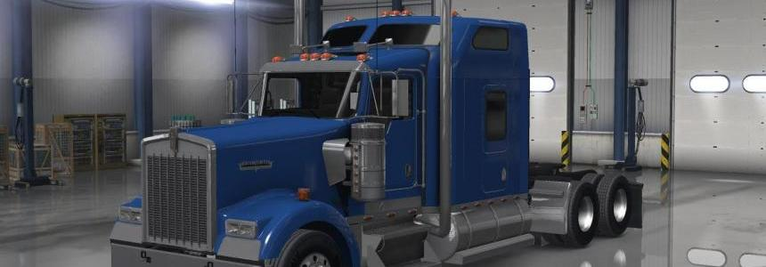 Bumper sets off on Peterbilt 389 Kenworth W900 v1
