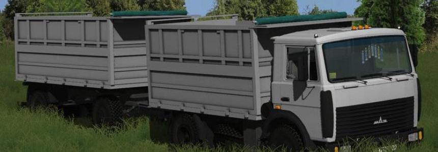 Maz 5551 Farming simulator 17 v2.0