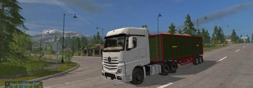 Mercedes Benz Actros MP4 v1.1.1