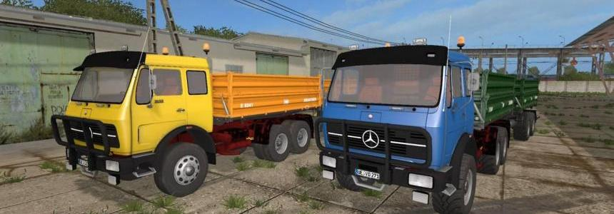 Mercedes-Benz NG 1632 Tipper Pack v1.0