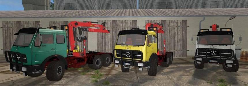 Mercedes-Benz NG 6x6 Forrestry Crane v2.0