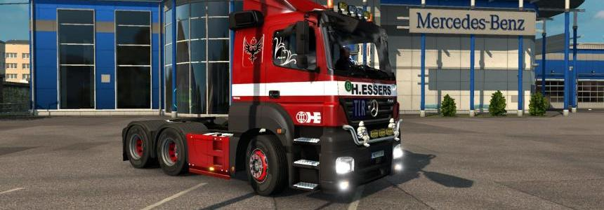Mercedes Benx AXOR v7.0 for ETS@2