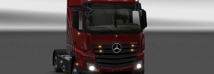 New Actros Plastic Parts and more v3.12