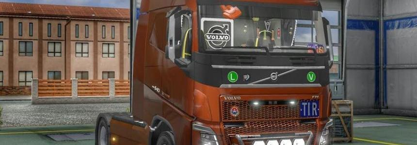 New Volvo FH16 Accessories + Interior v3.1