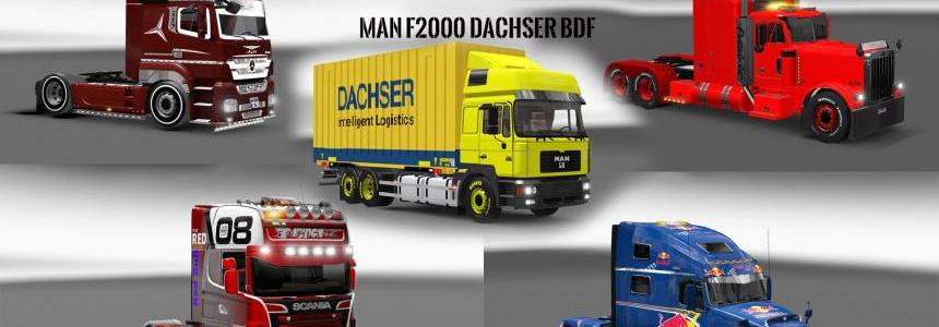 Pack 10.2 compt. Trucks with Powerful 10.3