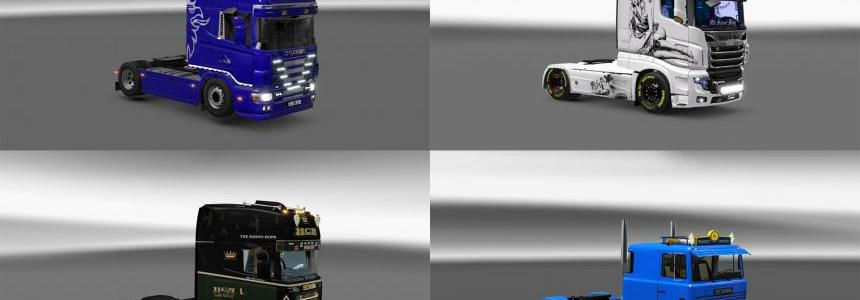 Pack 10.3 compt. Trucks with Powerful