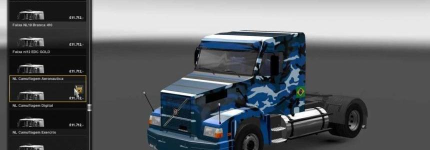 Pack of Brazilian Volvo Trucks N1020 NL10 NL12 NH12 v1.4 Final