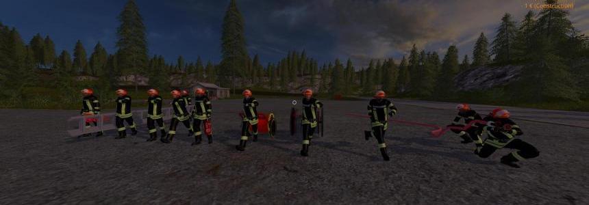 Pack soldats du feu v1