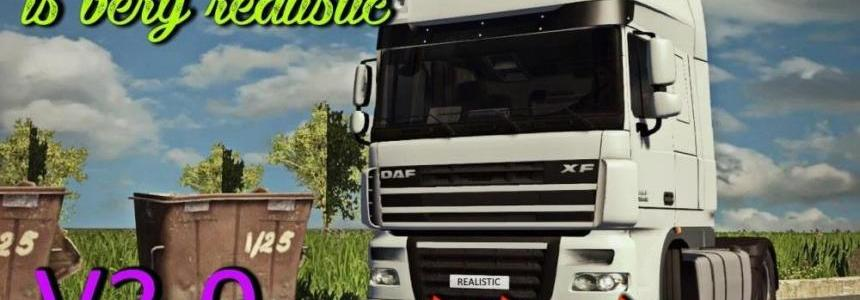 Realistic Driving and Physics for all Trucks v3.0