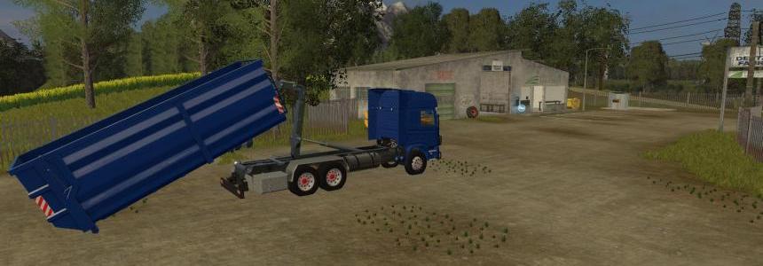 Scania 124L Hooklift 6x4 v1