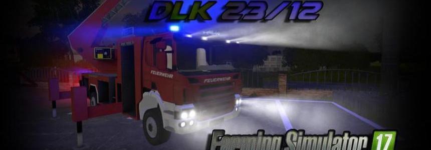 Scania P240 DLK 23/12 v1.0