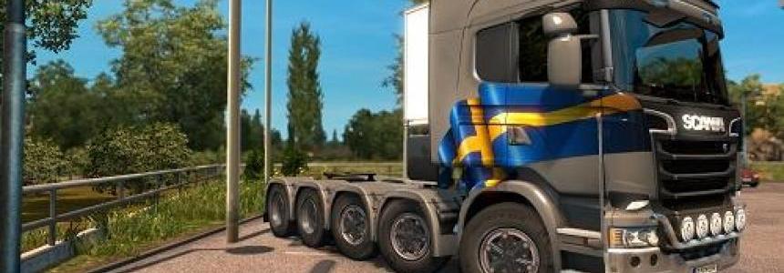 Scania R 8x4, Scania R 10x4 3 in 1