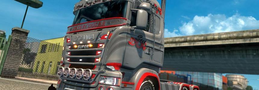 Scania R & S Highline Stil Dog skin 1.26