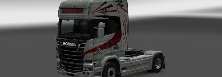 Scania Streamline Mad Dog skin v1