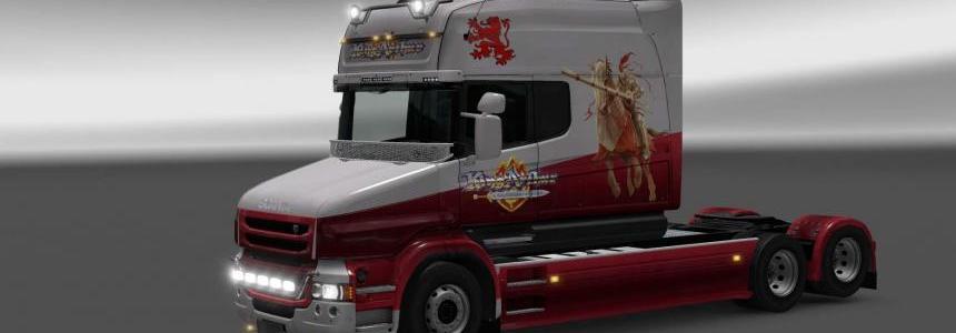 Scania T Knight skin 1.26