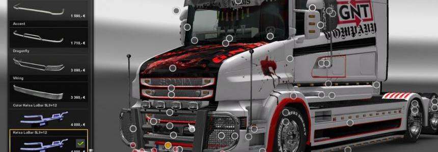 Scania T & RS Tunning v4.2