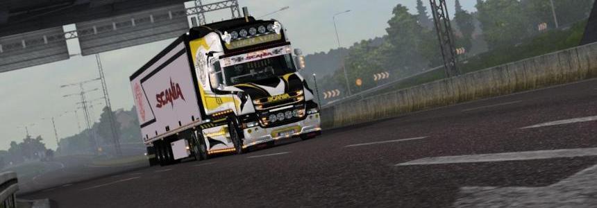 Skin Ageratos Line for Scania T v1.0