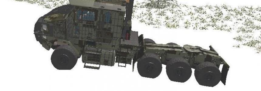 Slat Armored OSHKOSH HET M1070 FS17 v1