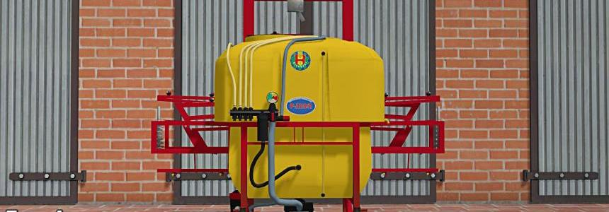 Sprayer Biardzki Yellow v1.0